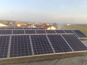 Pannelli solari su edificio industriale San Clemente Rimini