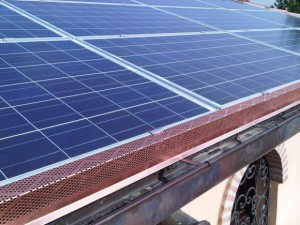 Particolare impianto fotovoltaico abitazione a San Clemente Rimini