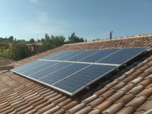 Impianto fotovoltaico su tetto a Montegridolfo Rimini