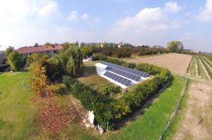 Impianto fotovoltaico a terra Martorano provincia di Forlì Cesena