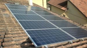 Pannelli solari su tetto a Mondaino Rimini