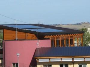 Fotovoltaico scuola sostenibile Montegridolfo Rimini