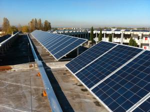 Impianto fotovoltaico 60 KW presso il Cimitero Civico del Comune di Rimini